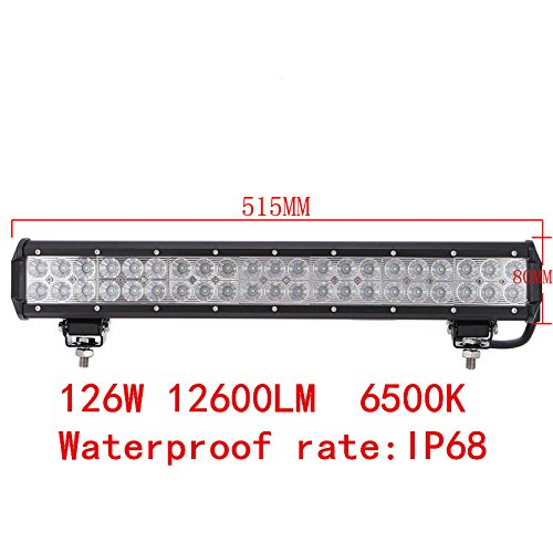 Driving-Fog-LED-Light-Spot-LED-Light-Bar-Staffa-di-montaggio-per-Jeep-xagoo-barche-SUV-e-motori