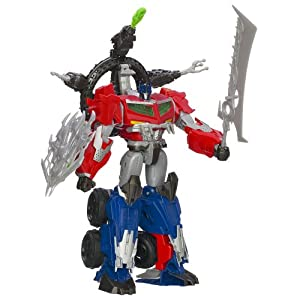 Transformers Beast Hunters Optimus Prime Action Figure