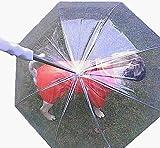 【CROSS WALKER】 雨の日でも 梅雨の時期も 気軽にお散歩 ペットアンブレラ 傘 散歩
