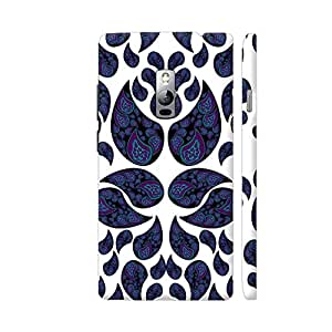 Colorpur Paisley Purple And Blue Artwork On OnePlus 2 Cover (Designer Mobile Back Case) | Artist: VanessaGF