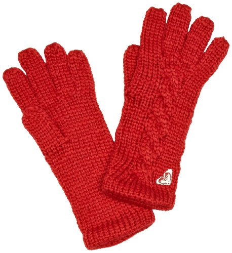 Roxy Easy Day Women's Gloves Red One Size