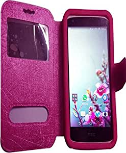 NAV FILP CASE COVER WITH SILICONE HOLDER FOR LENOVO A1000