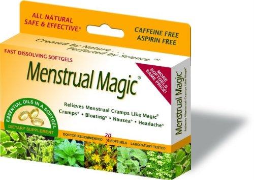 Отзывы Menstrual Magic 20 Softgels