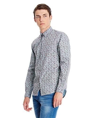 Merc Camisa Hombre York Azul Claro