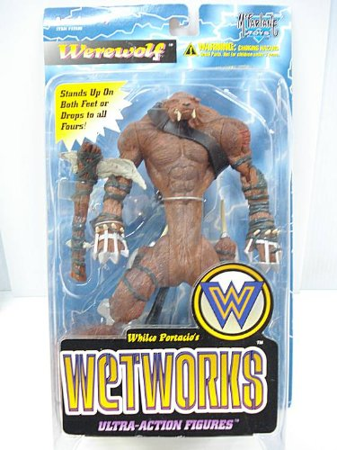 Buy Low Price McFarlane Wetworks Werewolf – Red Version Figure (B004P3T888)