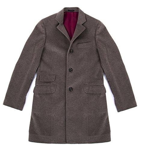brunello-cucinelli-mens-oatmeal-brown-100-cashmere-3-4-coat-size-48