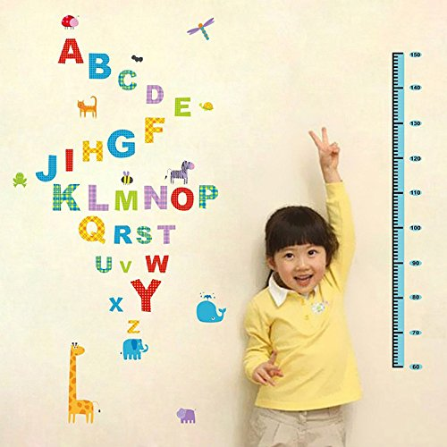 coffled-growth-chart-wall-decal-stickers-colorful-happy-height-measurement-wall-decoration-with-alph