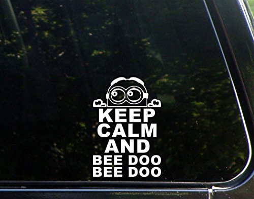 Keep Calm And Bee Doo Bee Doo Minion - 5