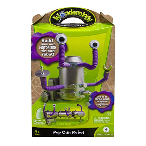 Wonderology - Science Kit - Pop Can Robot