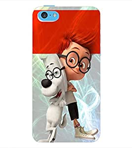 ColourCraft Cartoon Back Case Cover for APPLE IPHONE 5C