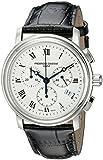 Frederique Constant Men's FC292MC4P6 Persuasion Black Strap Chronograph Watch