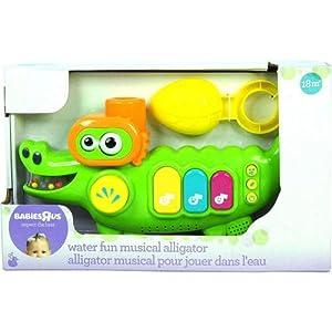 Babies R Us Water Fun Musical Alligator