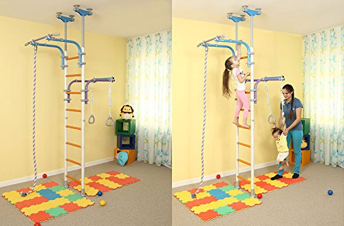 Kids Playground Play Set for Floor & Ceiling / Family Indoor ...