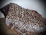 XXL Kuscheldecke Tagesdecke Decke Leopard – Design 200x240cm