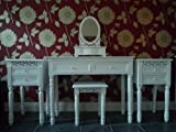 Belgravia Dressing Table, Mirror, Stool and 2 x 2 Drawer Bedside Tables