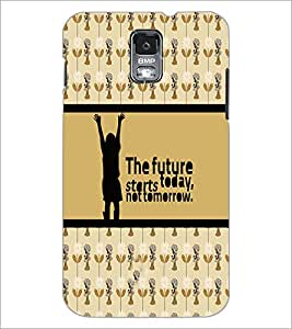 PrintDhaba Quote D-4271 Back Case Cover for SAMSUNG GALAXY S5 (Multi-Coloured)