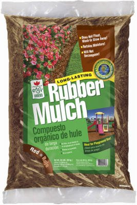 Phoenix Recycled #BMP82010-100 20LB RED Rubber Mulch