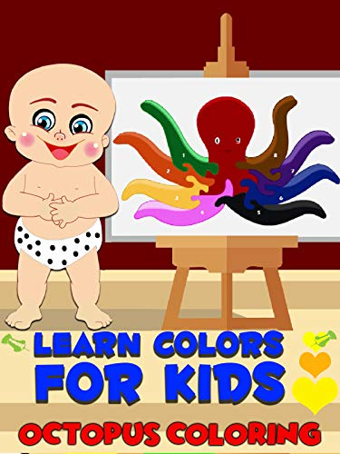 Learn colors for kids - Octopus Coloring on Amazon Prime Video UK