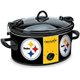 Crock-Pot SCCPNFL600-PS Cook and Carry Slow Cooker, 6-Quart, Pittsburgh Steelers