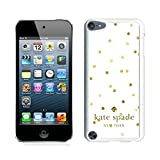 img - for New Senior Custom Design With Best Quality Kate Spade 53 White iPod Touch 5th Generation Cover Case book / textbook / text book