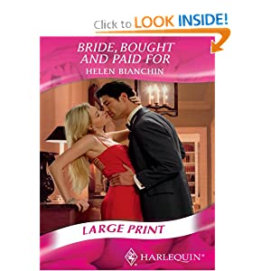 Downloads Bride, Bought and Paid for (Mills & Boon Largeprint Romance)