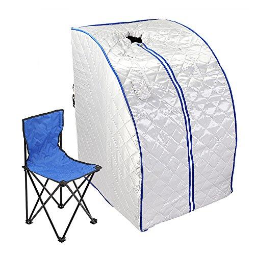 FurMune-Sauna-Portable-Faltbare-Wrmekabine-Ferninfrarot-Heimsauna-Abspecken-Zimmer-Gewicht-Verlieren-Platzsparend