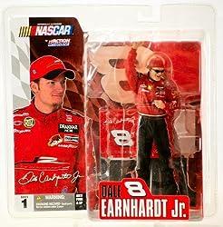 Dale Earnhardt Jr Jr Motorsports Non Budweiser Mc Farlane Nascar Series 1 Action Figure With Sunglasses Chase Alternate Variant