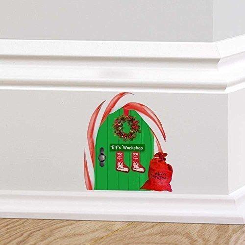 complet-couleur-elfe-porte-elfes-atelier-fee-de-noel-pixie-porte-autocollant-mural-decoration-enfant