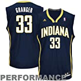 NBA adidas Danny Granger Indiana Pacers Youth Revolution 30 Performance Jersey - Navy Blue (Large) at Amazon.com