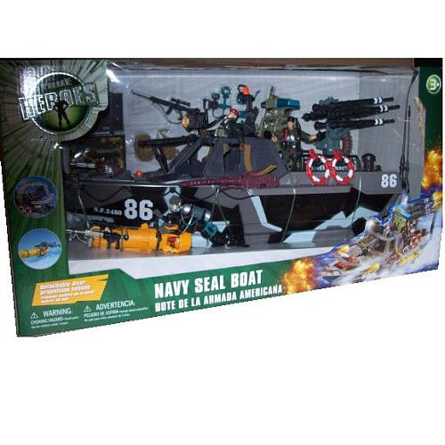 Buy Low Price Toys R Us True Heroes Navy Seal Boat Figure (B002U79JVW)