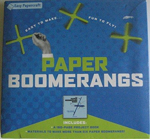 Paper Boomerangs - 1