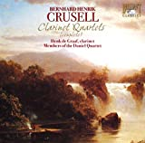 echange, troc Crusell, De Graff, Members of the Daniel Quartet - Clarinet Quartets