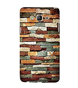 Expensive Rock Pattern Cute Fashion 3D Hard Polycarbonate Designer Back Case Cover for Samsung Galaxy On7 Pro (2016) :: Samsung Galaxy On 7 Pro