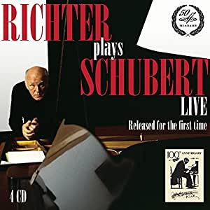 Richter interprète Schubert en concert (Coffret 4 CD)