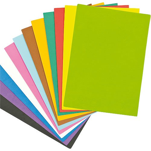 Fogli di gommapiuma colorata sanotint light tabella colori for Gomma piuma rigida