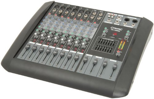 Tc158- Mixing Console With 6 Mono Mic/Line & 2 Stereo Line Inputs Cl1002 10 Channel Mixer front-323546