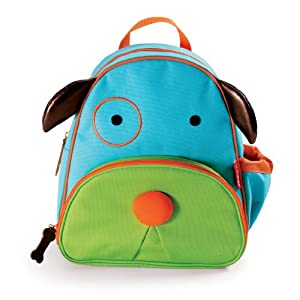Skip Hop Zoo Pack Little Kid Backpack, Dog