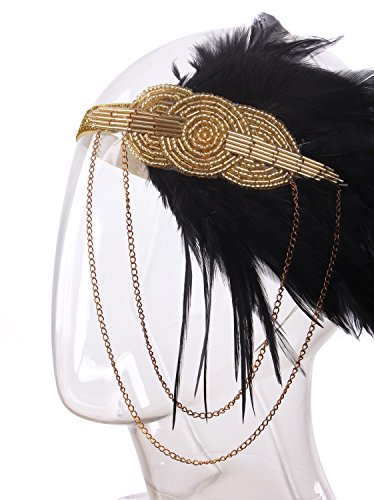 Vijiv-Black-Gold-Headpiece-Vintage-1920s-Headband-Flapper-Great-Gatsby