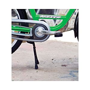 Torker Cargo T Center Stand Bicycle Kickstand, Black