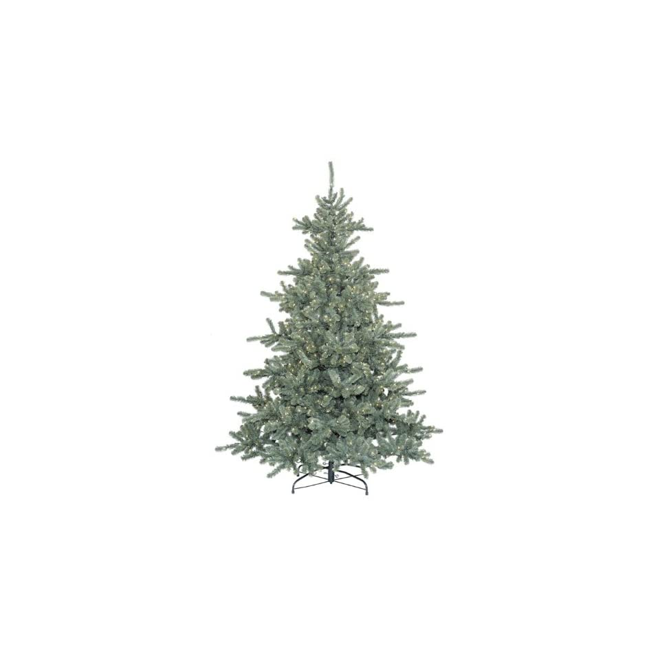 7.5 Pre Lit Ballard Spruce Artificial Christmas Tree With Clear Lights #170635