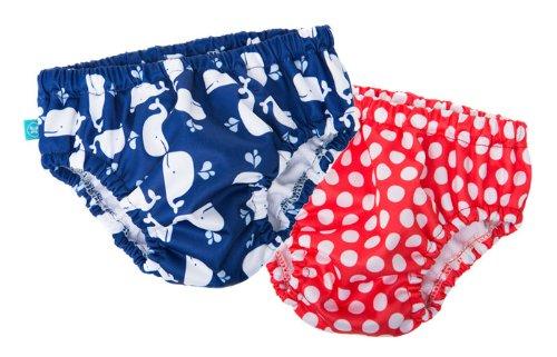 Honest Swim Diapers - Full Coverage - Breton Stripes front-746358