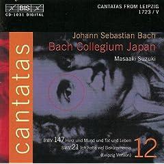 Ich hatte viel Bekummernis, BWV 21 (Leipzig version): Recitative: Ach Jesu, meine Ruh (Soprano / Bass)