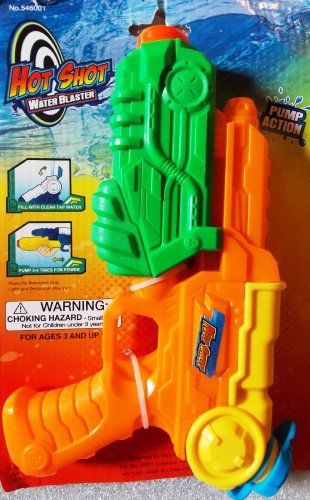 Hot Shot Water Blaster Pump Action - 1