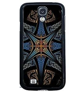Printvisa Dark Multicolour Pattern Back Case Cover for Samsung Galaxy S4 Mini::Samsung Galaxy S4 Mini i9190