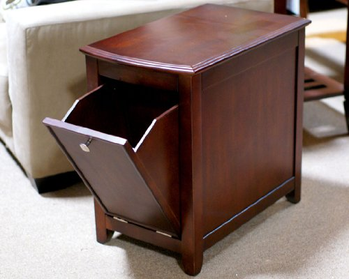 Image of CM4333E Pine Hurst Magazine End Table w/ Drop Door Opening (CM4333E)