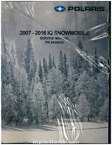 9926030 2007-2016 Polaris IQ Snowmobile Service Manual (Polaris 2011 Service Manual compare prices)