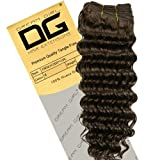 Dream Girl 18 inch Colour 4 French Deep Curl Hair Extensions