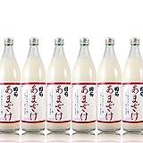 6本セット 篠崎 国菊甘酒 あまざけノンアルコール 900ml×6本