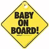 Safety 1st BABY ON BOARD! 「赤ちゃん乗車中」吸盤式 サイン