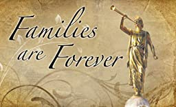 LDS Plastic Families Are Forever Temple Recommend Holder - Chad Hawkins Art